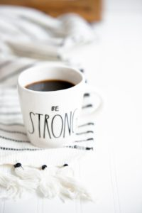 """""""Strength is nothing more than enduring life – to be able to survive the heartaches and agonies we go through with our heads held high.  Sometimes just walking through adversity to get to the other side is a sign of strength.""""-Sylvia Browne"""