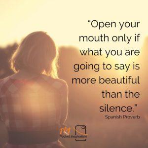 #QuietDay
