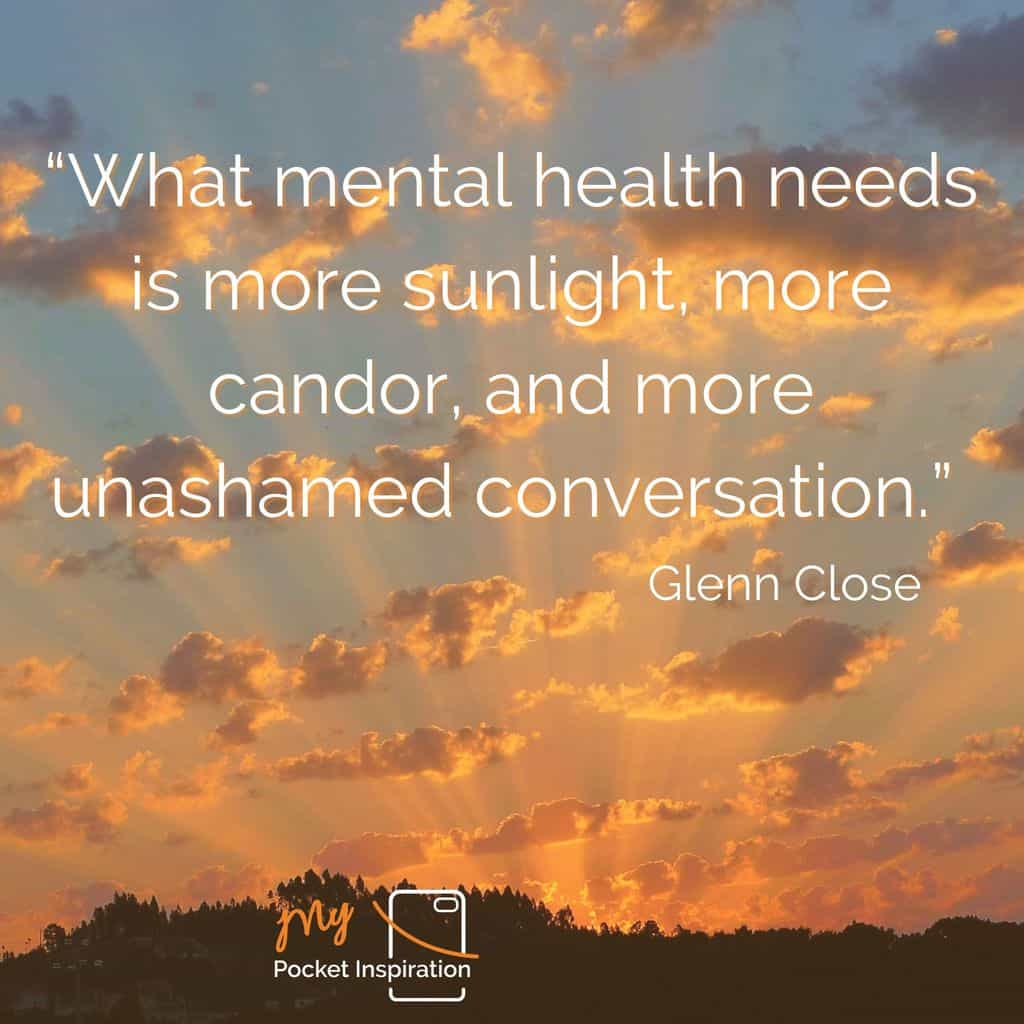 More Mental Health Talk