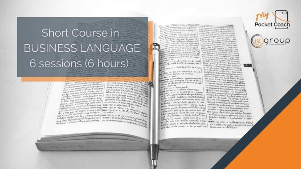 Business Language – Short Course by MPC and IE Group