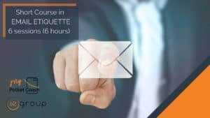 Email Etiquette  – Short Course by MPC and IE Group