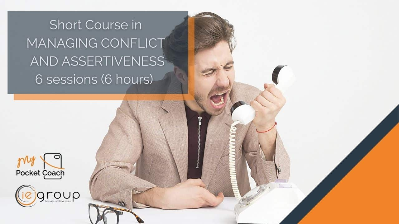Managing Conflict and Assertiveness – Short Course by MPC and IE Group