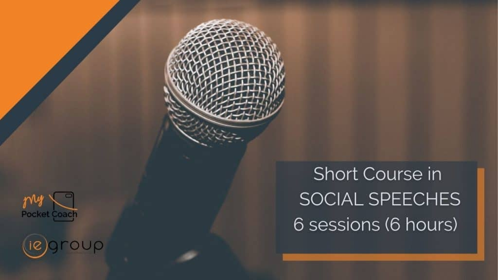 Social Speeches – Short Course by MPC and IE Group
