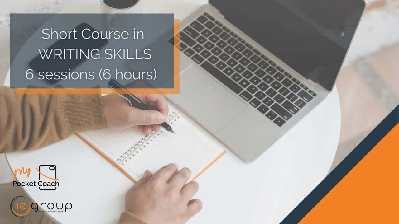 Writing Skills – Short Course by MPC and IE Group
