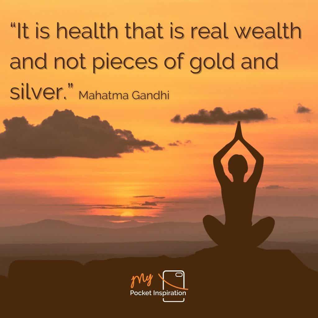 A wellness wisdom
