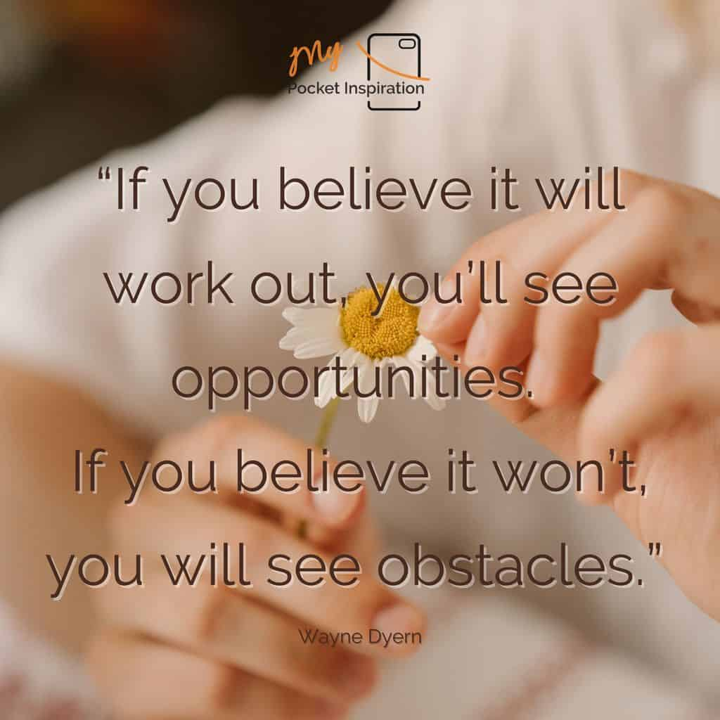 See opportunity everywhere!