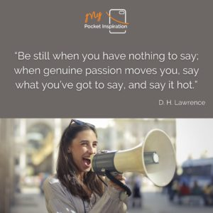 Today is World Speech Day – So say what you have to say!