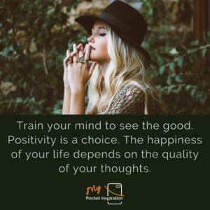 Positivity is a choice