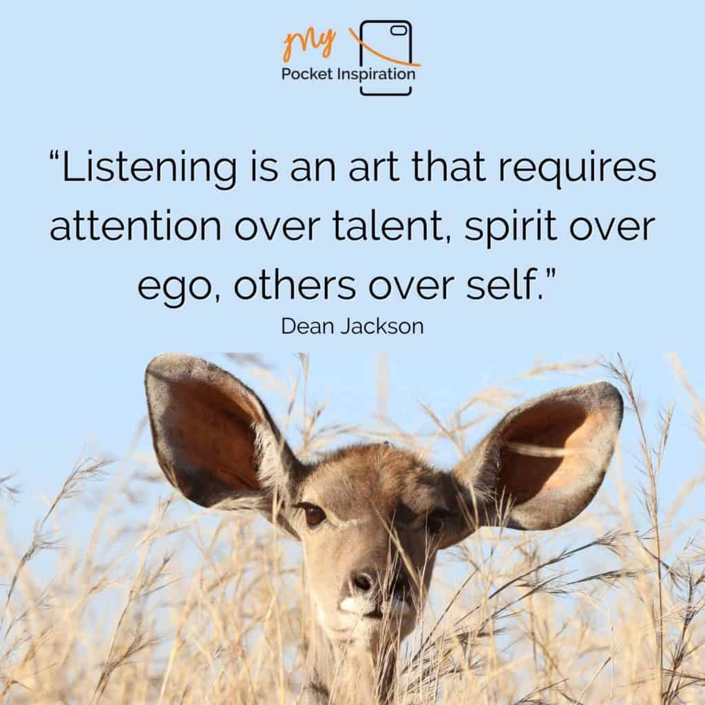 """Listen and be heard for """"BE HEARD DAY"""""""