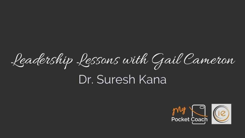 """""""The future is extremely bright"""" Leadership Lessons with Dr. Suresh Kana"""