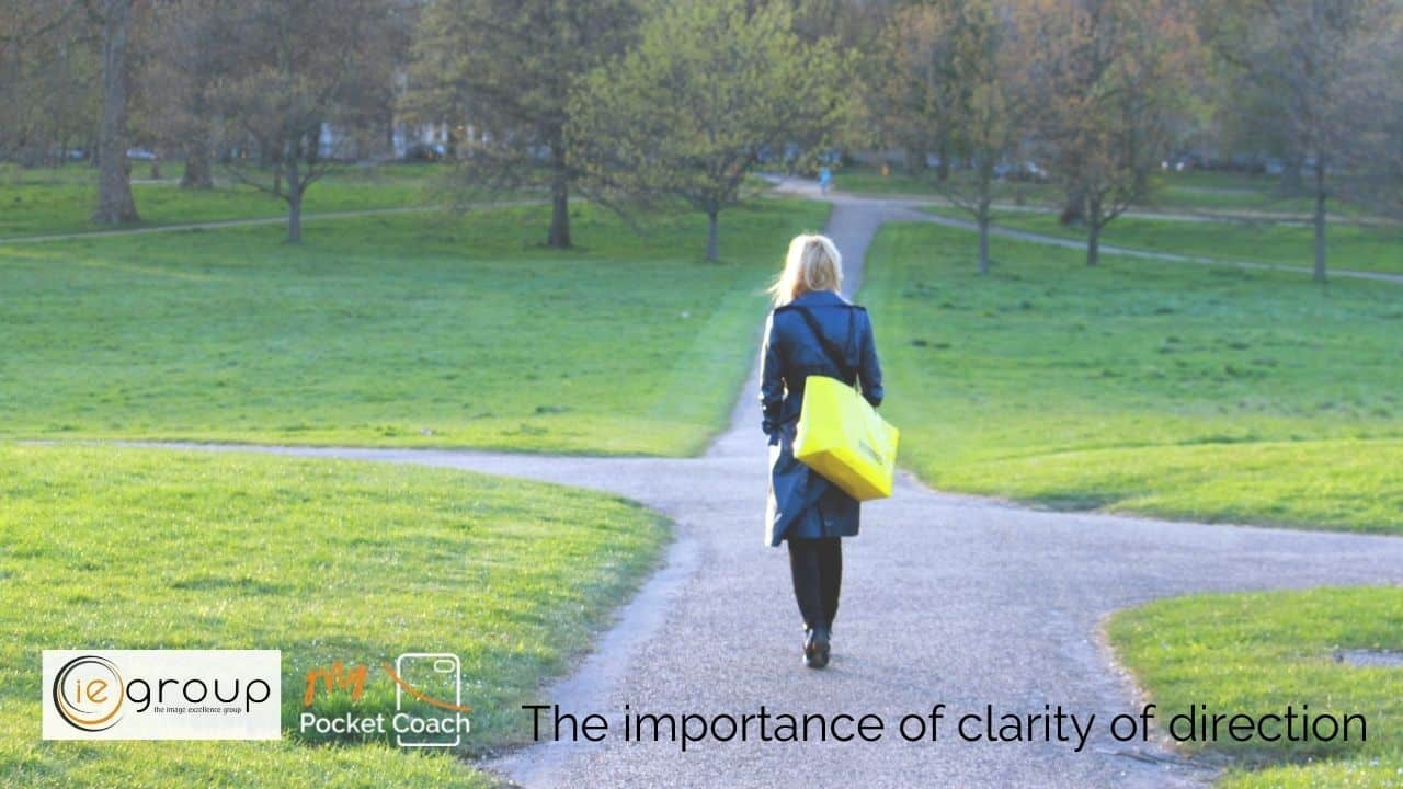 Taking people from here to there: the importance of clarity of direction